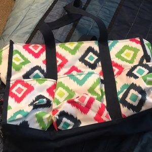 Thirty one bag bright colors, EUC